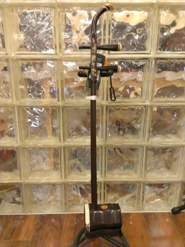 Dunhuang Yun Rosewood Erhu Chinese 2-string Violin Fiddle Musical Instrument by Dunhuang Yun