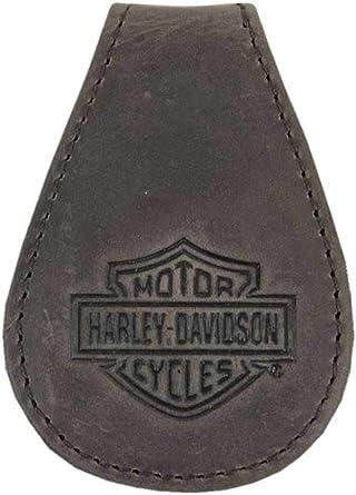 Harley-Davidson MCH8492-BRNBLK - Clip magnético para dinero en efectivo para hombre, diseño de caballo loco