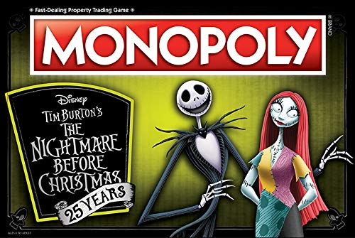 Monopoly Tim Burtons The Nightmare Before Christmas Board Game