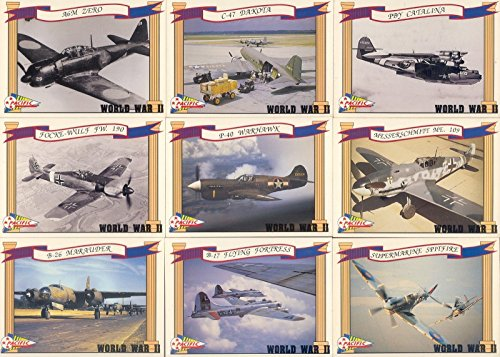 WORLD WAR II 2 1992 PACIFIC TRADING CARDS COMPLETE BASE CARD SET OF 110