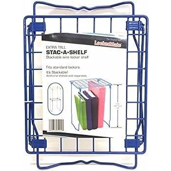 Amazon Com Stackable Locker Shelf Black Office Products