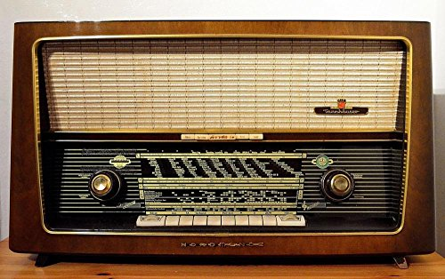 LAMINATED 38x24 inches Poster: Radio Tube Radio Radio Device Frequency Transistor Radio Antique Nostalgia Transmitter Radio Station Radio Keyboard (Antique Transistor Radios)