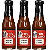 Taco Bell Fire Sauce 7.5oz Bottles (pack of 3)