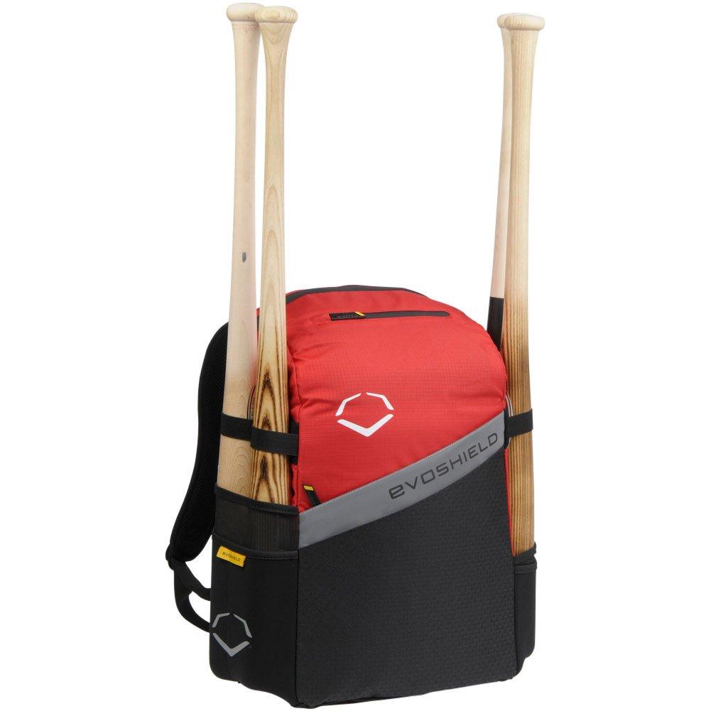 Evoshield野球/ソフトボールチームBat Packバックパックバッグ B00R3M17TG レッド レッド