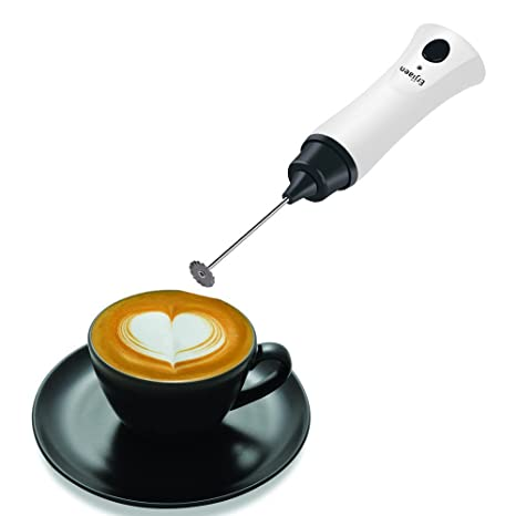 Eléctrico espumador de leche de café mezclador de mano café espumador varita batería para Latte Leche