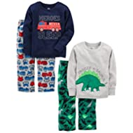 [Sponsored]Boys' 4-Piece Pajama Set