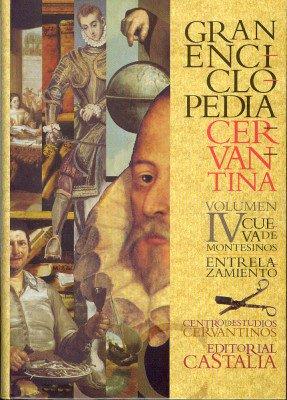 Descargar Libro Gran Enciclopedia Cervantina. Volumen Iv. Cueva De Montesinos - Entrelazamiento Carlos Alvar