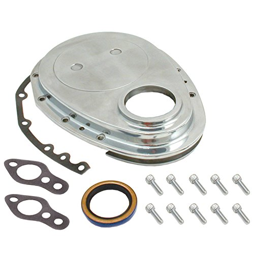 Spectre Performance 4935 Aluminum Timing Cover Kit for Small Block ()