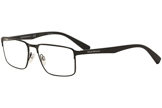 Armani EA1046 Eyeglass Frames 3001-Matte Black at Amazon Men\'s ...