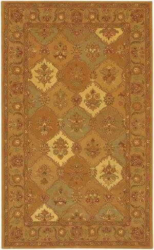 Metro Collection Hand-tufted Contemporary Rug (7'9 Round) by Chandra - Contemporary Metro Rug Brown