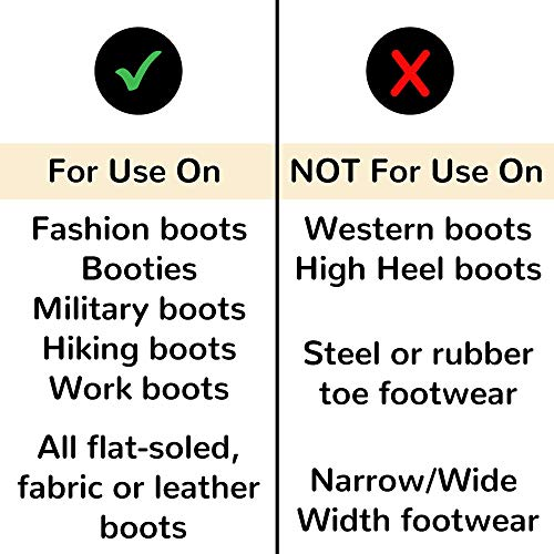 FootFitter Premium Professional Boot Stretcher Set (Boot Stretcher & 4 Oz. Bottle of FootFitter Shoe Spray) (Men's Large)