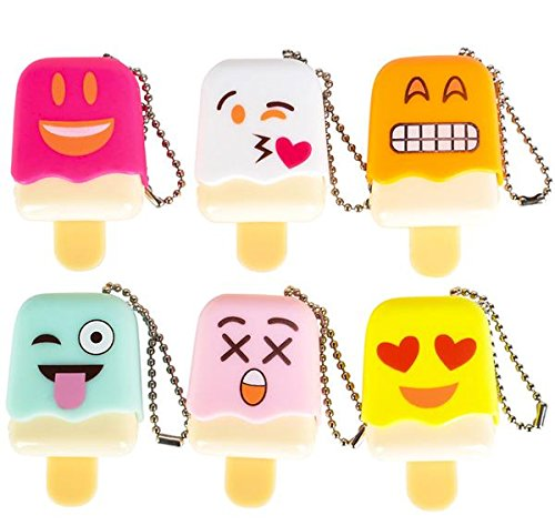 EMOJI ICE POP LIP GLOSS, Case of 144