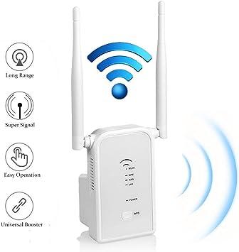 Repetidor Repetidor de Senal Wifi Inalambrico 300Mbp 2.4GHz Enrutador Modos AP