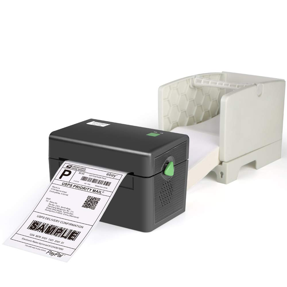 Fangtek Printer and Label Holder - Commercial Grade Direct Thermal High Speed Printer - Compatible with Amazon, Ebay, Etsy- 4×6 Thermal Printer by Fangtek