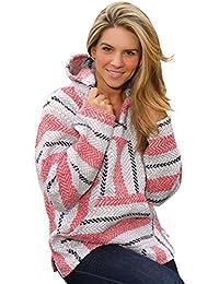 Sherbert Baja Pullover with Hood, Pouch Pocket, Inside Brushing