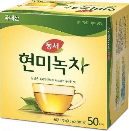 (Dongsuh Food Brown Rice Green Tea -(1.5g*50ea))