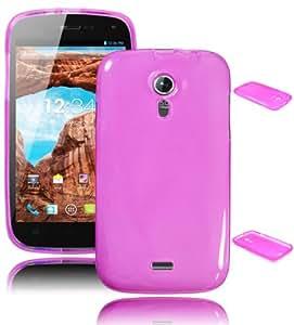 Bastex TPU Case for BLU Studio 5.0 - Pink Candy Skin Gel Cover