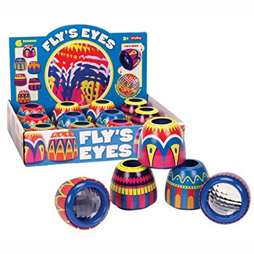 Tin Fly's Eye (Sold Individually - Colors Vary)
