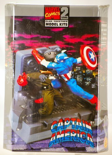 - Captain America Red Skull Diorama Model Kit 1:12 Scale (Toy Biz 1998)