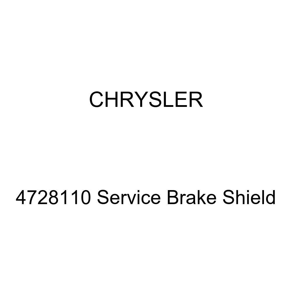 Genuine Chrysler 4728110 Service Brake Shield by Chrysler