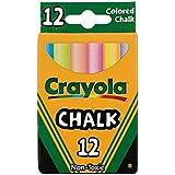 Crayola Chalk, Assorted Colors, 3 X 12 Sticks Per Box (36 Chalks)...