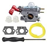 zama carburetor c1u - Savior Carburetor with Adjustment Tool Kit Screwdriver for Craftsman Troybilt Yard Machine Trimmer 753-06288 Zama C1U-P27 MS2550 MS2560 MS9900 RM430