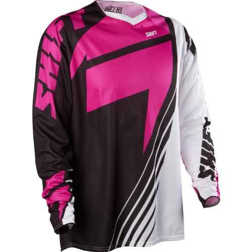 Shift Racing Faction LE Jersey Chad Reed Las Vegas Black Purple White Medium MD (White Reed Jersey)