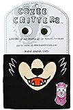 コージークリッターズ 防寒マスク ミディアムサイズ ウルフ オオカミ ブラック TYCZCL-WF-BK