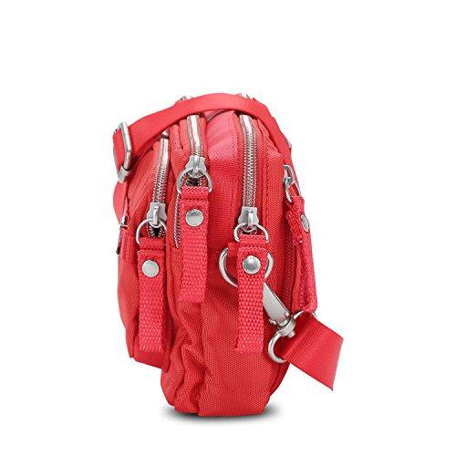 Lucy Riñonera Gina Bandolera Letters Rojo Bag amp; Love Bolso George Mini 20 Cm EfATqEw