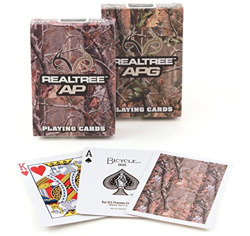 Realtree Camouflage Standard Index Playing Cards