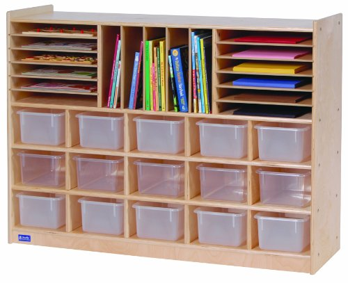 Steffy Wood Products 36-Inch by 48-Inch Multi-Section Storage (Steffy Wood Products Book Display compare prices)