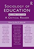 Sociology of Education, , 0415803705