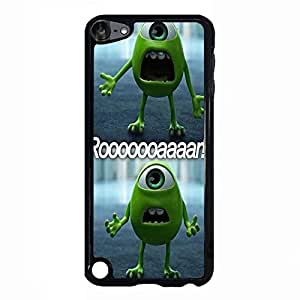 Ipod Touch 5th Generation Cover,Monster University Phone Case Personalized Custom Cartoon&Anime Movie Series Protect Case Cover Monster University Specialize