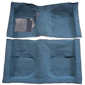 1981 to 1983 AMC Eagle Carpet Custom Molded Replacement Kit, SX4 2dr Liftback, Complete Set (801-Black Plush Cut Pile)