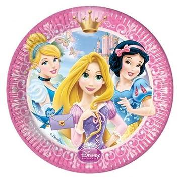 Disney Princess Glamour Party Paper Plates x 8  sc 1 st  Amazon UK & Disney Princess Glamour Party Paper Plates x 8: Amazon.co.uk: Toys ...