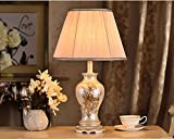 MILUCE Modern Chinese Style Table Lamps Post - Modern Creative Pastoral Lighting Bedroom Bedside Decoration Bedroom Table Lamps