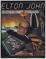 Elton John 1976 Tour Concert Program Programme Book