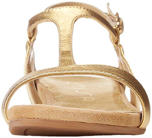 Alace Donna Punta gold Unisa Oro Aperta Sandali lmt Owq4dg4