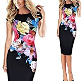 Best Luouse Gowns - NDJqer Women Pin up Summer Party Office Gown Review