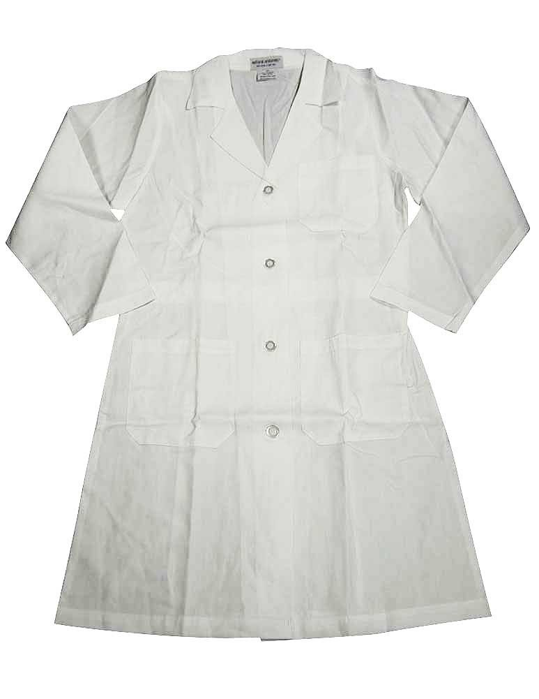 Natural Uniforms - Unisex 41 Inch Lab Coat, White 37152-Small