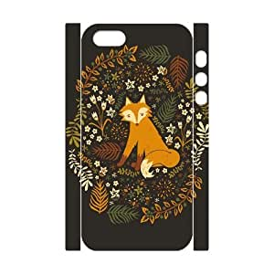 Clzpg 3D New Fashion Iphone5,Iphone5S Case - Fox DIY 3D cell phone case