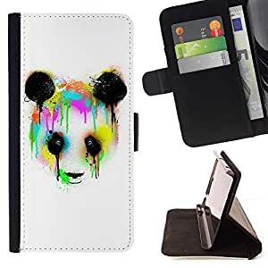 Amazon com: STPlus Crying Panda Ink Wallet Card Holder Cover Case
