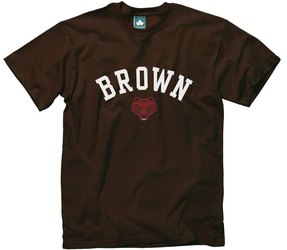 NCAA College and University Short Sleeve Classic Fit Cotton Ivysport Athletics Logo T-Shirt