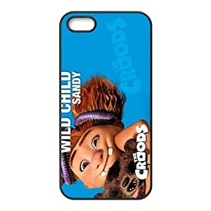 Custom Personalized The Croods Back Cover Case TPU for iphone5,5S JN5S-905