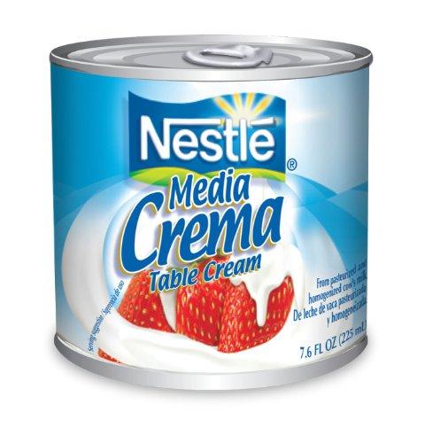 Nestle Media Crema Lite, 7.6-ounces (Pack of 24)