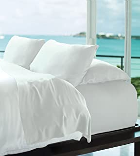 d52e4b6491 Cariloha Resort Bamboo Sheets 4 Piece Bed Sheet Set - Luxurious Sateen  Weave - 100%