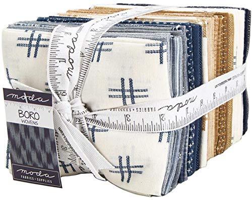 Boro Wovens 28 Fat Quarters Moda Fabrics - Quarters Woven Fat