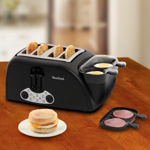 4 piece toaster