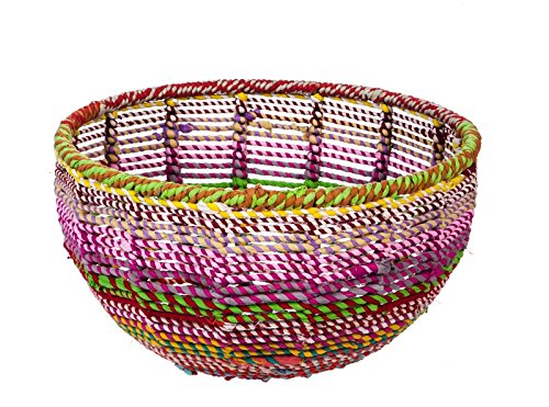Cypress Basket - Cypress Home Decorative Recycled Material Basket