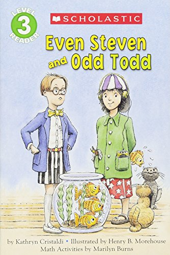 Concept Math Reader (Even Steven and Odd Todd, Level 3 (Hello Math Reader))